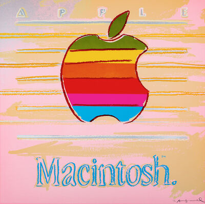Andy Warhol, 'Apple from Ads F&S II.359', 1985