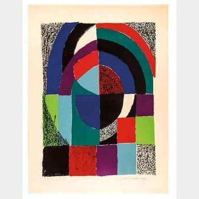 Sonia Delaunay, 'Cathedrale', ca. 1971