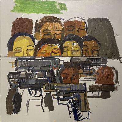 Clintel Steed, 'Guns and Heads!', 2020