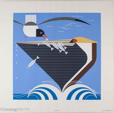 Charley Harper, 'Pelican Pantry', 1982