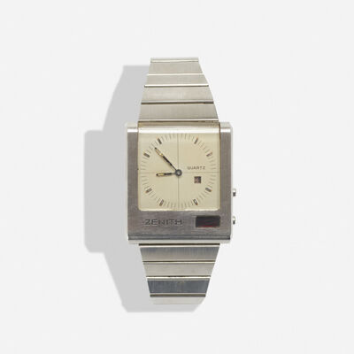 Zenith, 'Futur Time Command Wristwatch', c. 1975