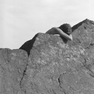 Simone Kappeler, 'Gesture to the rock, 26.7.1983', 1983