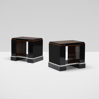 Paul Frankl, 'Pair of Occasional Tables from the Metropolitan Life North Building, New York', c. 1927
