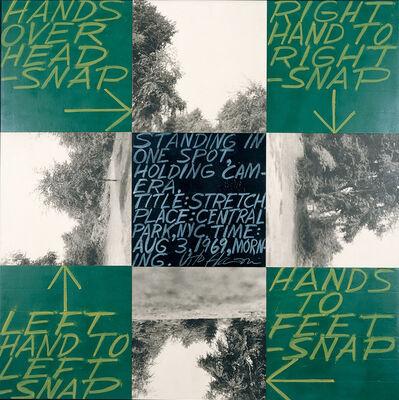 Vito Acconci, 'Stretch', 1969