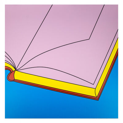 Michael Craig-Martin, 'Book', 2019