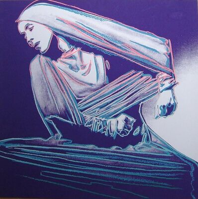 Andy Warhol, 'Martha Graham: Lamentation', 1986