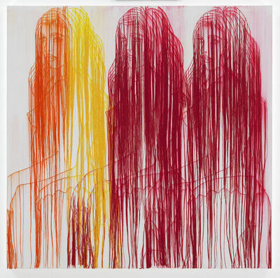 Ghada Amer, 'A SUMMER IN INDIA', 2017