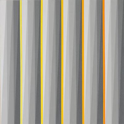 Gabriele Evertz, 'Gray + Yellows', 2006