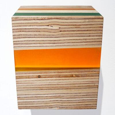 Michelle Benoit, 'Pyrite Paisley Series: Oblique Orange', 2019