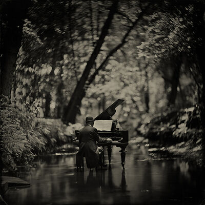 Alex Timmermans, 'Rhapsody in Black'