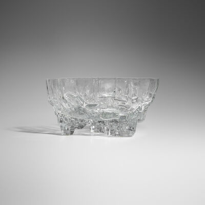 Tapio Wirkkala, 'Rare Iceberg vase, model 3043', c. 1965