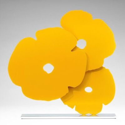 Donald Sultan, 'Yellow Poppies', 2016