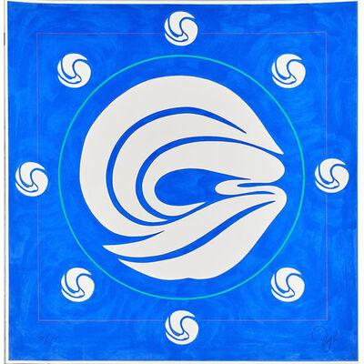 Jack Youngerman, 'Mandala Blue  ', 1980