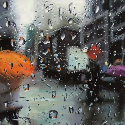 Karen Woods, 'Orange Umbrella', 2019