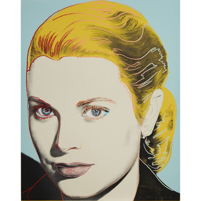 Andy Warhol, 'Grace Kelly F&S II.305', 1984