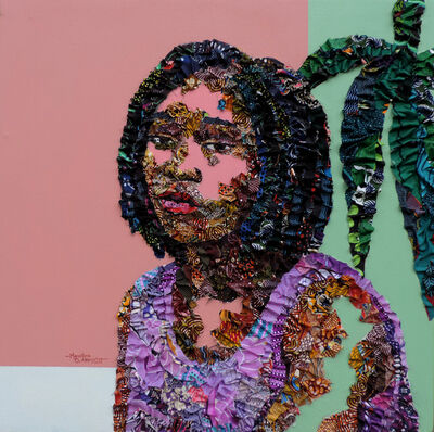 Marcellina Akpojotor, 'Here I Am (Conversations)', 2019