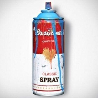 Mr. Brainwash, 'Spray Can (Signed)', 2016
