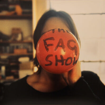 Sarah Lucas, 'The Fag Show', 2000
