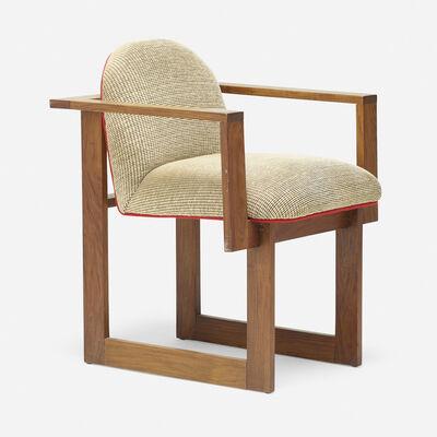 Vladimir Kagan, 'Prototype Cubist armchair', 1967