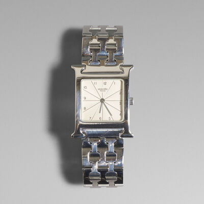 Hermès, 'Heure H watch', c. 2005