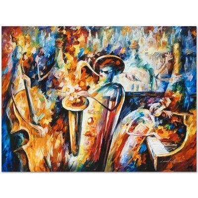 Leonid Afremov, 'Bottle Jazz III', 2010-2018