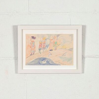 Joyce Wieland, 'Pastel Couples', 1985