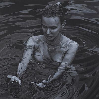 Adam Stennett, 'Hands in Water', 2017