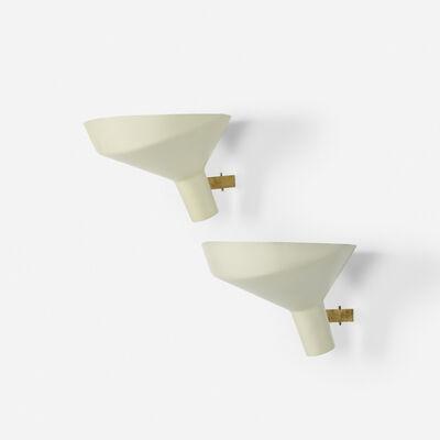 Gino Sarfatti, 'sconces model 225, pair', 1957