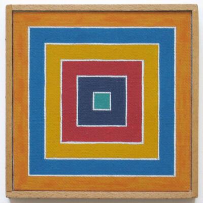 "Richard Pettibone, '""Frank Stella Concentric Squares, 1963""', 1972"