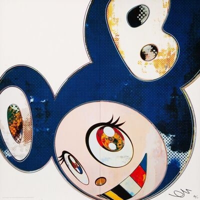 Takashi Murakami, 'And Then x6 Blue', 2013