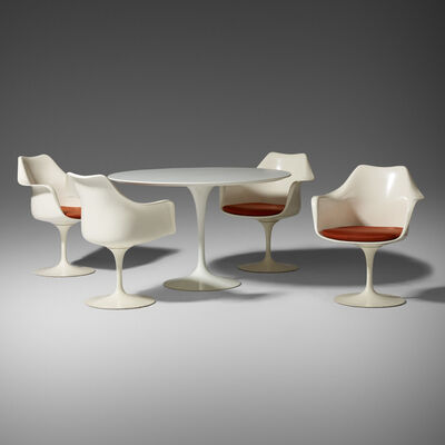 Eero Saarinen, 'dining set', 1956