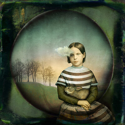 Maggie Taylor, 'Girl With A Small Cloud', 2012