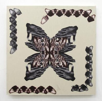 Kandis Williams, 'Hampton Hamsa', 2016