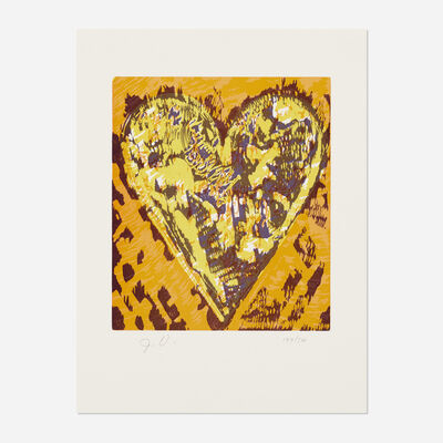 Jim Dine, 'Heart for Film Forum', 1993