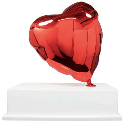 Mr. Brainwash, 'Big Red Balloon Heart', 2021