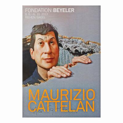 Maurizio Cattelan, 'Poster', 2013