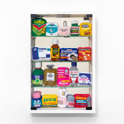 Lucy Sparrow, 'Bourdon Street Chemist Cabinet', 2020