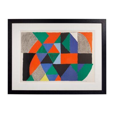 Sonia Delaunay, 'Polyphonie', 1970