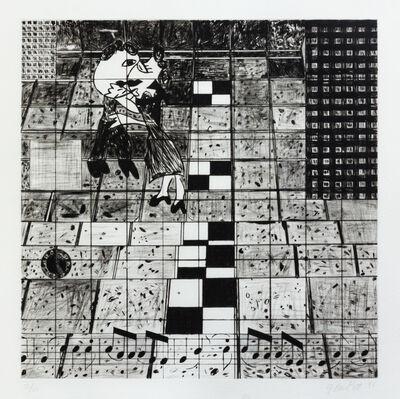 Jennifer Losch Bartlett, 'Air: 24 Hours (a group of 3)', 1993