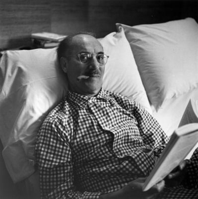 Slim Aarons, 'Groucho Marx - Signed Photograph', 1954