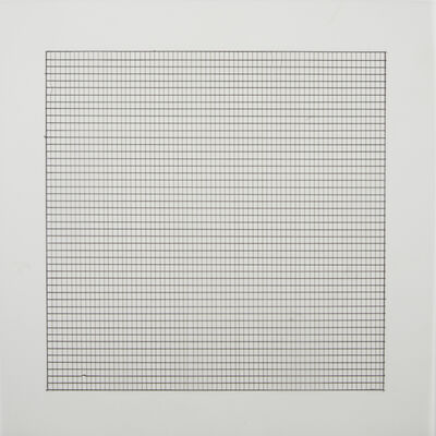 Agnes Martin, 'Paintings and Drawings: Stedelijk Museum Portfolio', 1990-91