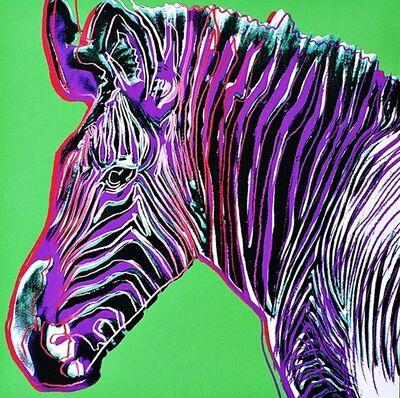 Andy Warhol, 'Zebra for Art Basel', 1987