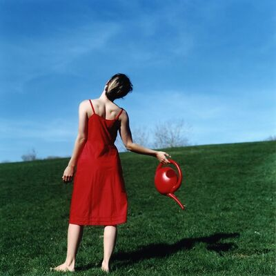 Cig Harvey, 'Watering Can, Self-portrait, Rockland, Maine', 2010