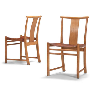 Arne Jacobsen, 'A set of four Bellevue chairs', ca. 1935
