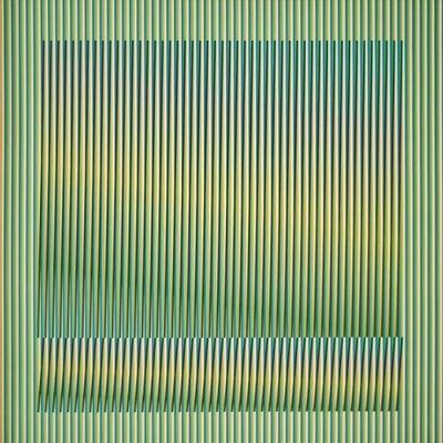 Carlos Cruz-Diez, 'Induction Chromatique a double fréquence Série Orinoco 2', 2018