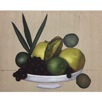 Karyn Lyons, 'Fruit on a Plate', 2018