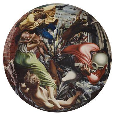 Philip Guston, 'Bombardment', 1937