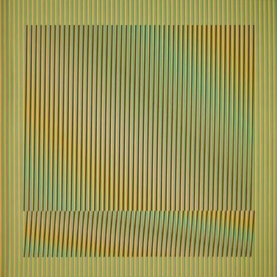 Carlos Cruz-Diez, 'Induction Chromatique a double fréquence Série Orinoco 6', 2018