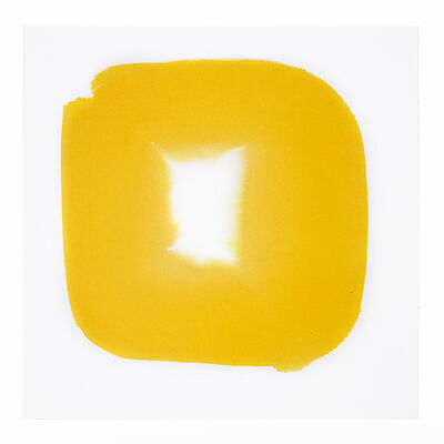 Veronique Gambier, 'Aperture in Sunshine Yellow VI', 2015