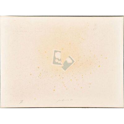Joe Goode, 'Floating Cards - Part IV', 1969